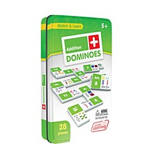 Addition Dominoes Match and Learn Educational Learning Game