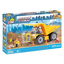 Action Town Construction Big Tipper Dump Truck 300 Piece Construction Blocks Building Kit