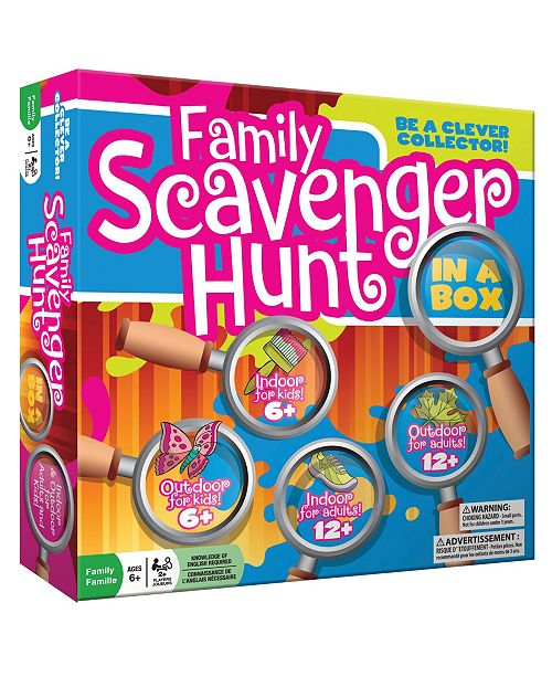 Outset Media Outset Family Scavenger Hunt In A Box