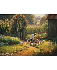 Cobble Hill Feeding Time Puzzle 1000 Pieces