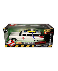 NKOK Ghostbusters RC Ecto 1 Classic With Working Headlights 1 is to 14 Scale