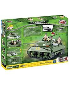 Small Army M10 Wolverine Kit Construction Blocks Building Kit