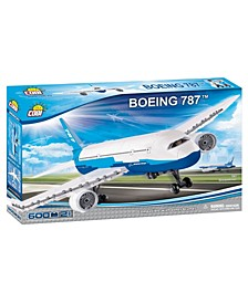 Boeing 787 Dreamliner Airplane 600 Piece Construction Blocks Building Kit