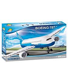 Boeing 787 Dreamliner Airplane 600 Piece Construction Blocks Building Kit