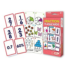 Fraction Flashcards Shapes, Objects and Word Problems