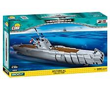 Small Army World War II German Submarine Type U Boot VIIB U48 800 Piece Construction Blocks Building Kit