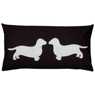 "11"" x 21"" Animal Print Down Filled Pillow"