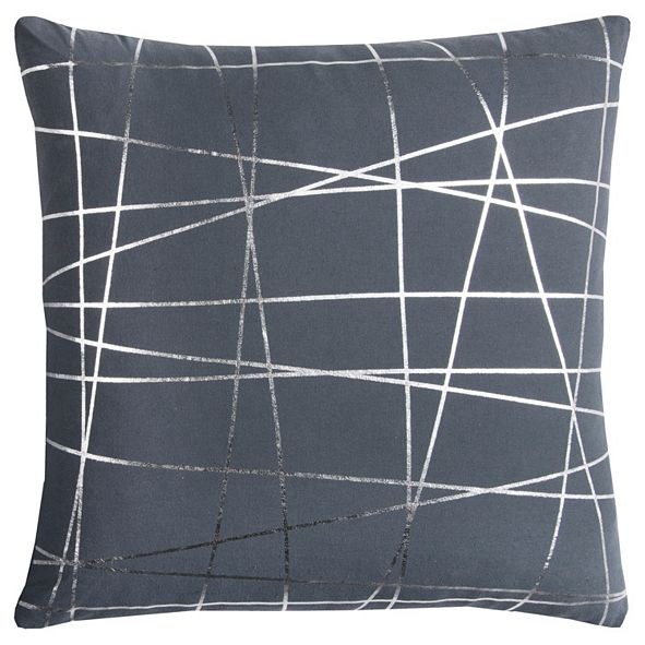 """Rizzy Home Rachel Kate 20"""" x 20"""" Abstract Down Filled Pillow"""