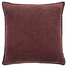 "Solid 22"" x 22"" Down Filled Pillow"