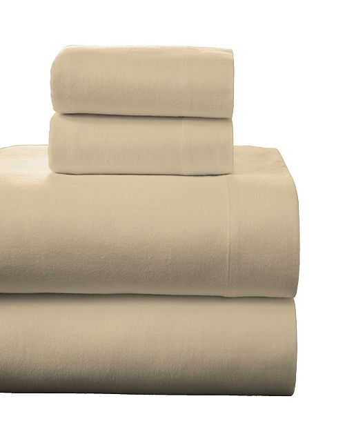 Pointehaven Superior Weight Cotton Flannel Sheet Set - Twin XL