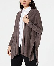 Alfani Open-Front Handkerchief-Hem Cardigan , Created for Macy's