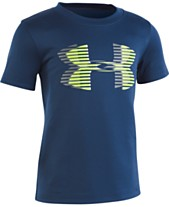 f126a33d641 Under Armour Toddler Boys Logo-Print T-Shirt