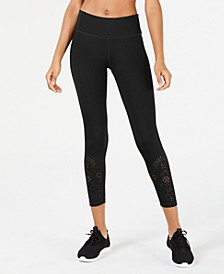 Perforated Ankle Leggings, Created for Macy's