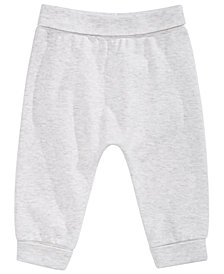 First Impressions Baby Boys& Girls Cotton Jogger Pants, Created for Macy's