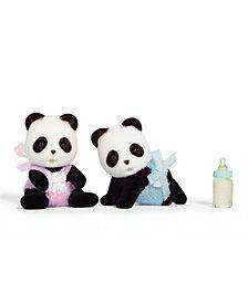 Calico Critters Wilder Panda Bear Twins