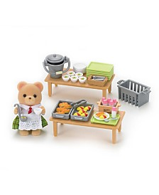 Calico Critters - School Lunch Set