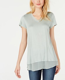 I.N.C. V-Neck Tunic, Created for Macy's