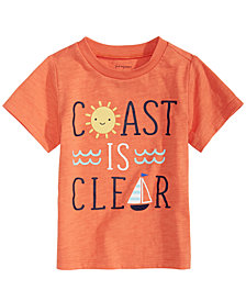 First Impressions Toddler Boys Coast-Print T-Shirt, Created for Macy's