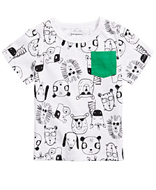 First Impressions Baby Boys Printed T-Shirt, Created for Macy's