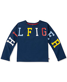 Tommy Hilfiger Big Girls French Terry Sweatshirt