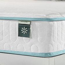 """Zinus Mint Green 6"""" Hybrid Spring Mattress- Firm mattress in a box, Full"""