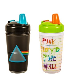 2- Pack of Pink Floyd Dark Side of The Moon and The Wall Sippy Cups