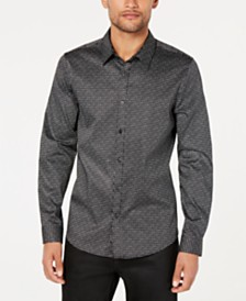 GUESS Men's Luxe Cosmic Dot Shirt