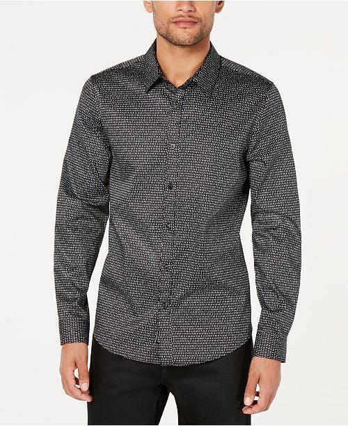 GUESS Men's Luxe Cosmic Dot Shirt