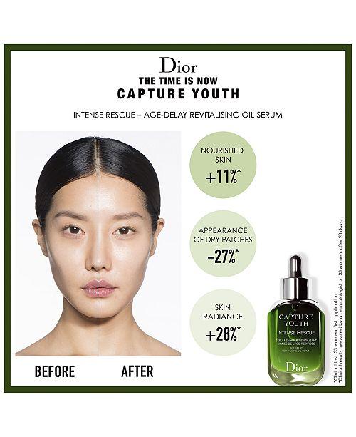�ล�าร���หารู��า�สำหรั� Dior�Capture Youth Intense Rescue Age-Delay Revitalizing Oil-Serum