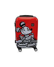 "FUL Disney Mickey 21"" Hardside Spinner Suitcase"