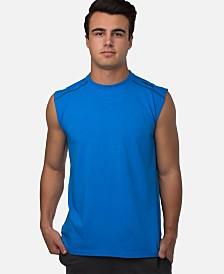 Cariloha Men's Muscle Sleeveless Viscose from Bamboo T-Shirt