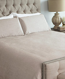 Linen 3 Piece Queen Duvet Cover Set