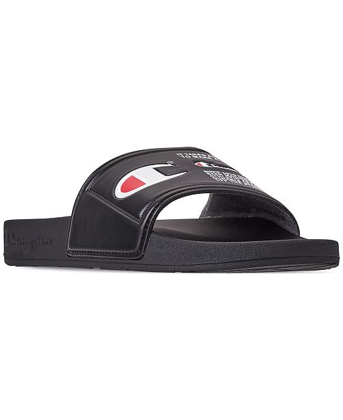 409383e5c0440 Champion Men s IPO Jock Slide Sandals from Finish Line   Reviews ...