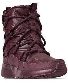 Nike Women's Tanjun High Rise High Top Sneaker Boots from Finish Line