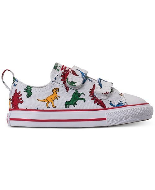 e8bbd8b0618e ... Converse Toddler Boys  Chuck Taylor All Star Dinoverse Casual Sneakers  from Finish ...