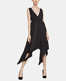 BCBGMAXAZRIA Handkerchief-Hem A-Line Dress