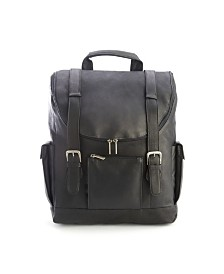 "Royce New York Backpack with 15"" Laptop Sleeve"