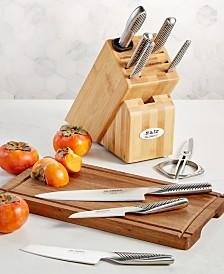Global 10-Pc. Takshi Knife Block Set