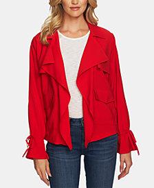 CeCe Open-Front Jacket