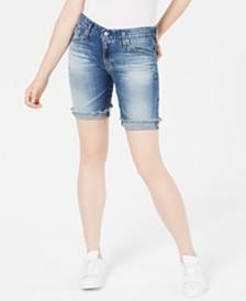 AG Nikki Bermuda Denim Shorts