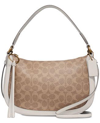 COACH Sutton Crossbody in Signature Canvas & Reviews - Handbags ...