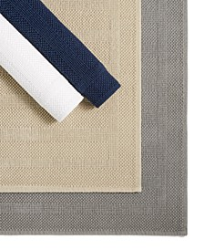 Woven Stripe Cotton Mats Collection, Created for Macy's