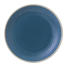 Royal Doulton Exclusively for Gordon Ramsay Maze Grill Hammer Blue Dinner Plate