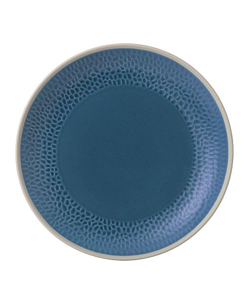 Gordon Ramsay Royal Doulton Exclusively for Maze Grill Hammer Blue Dinner Plate