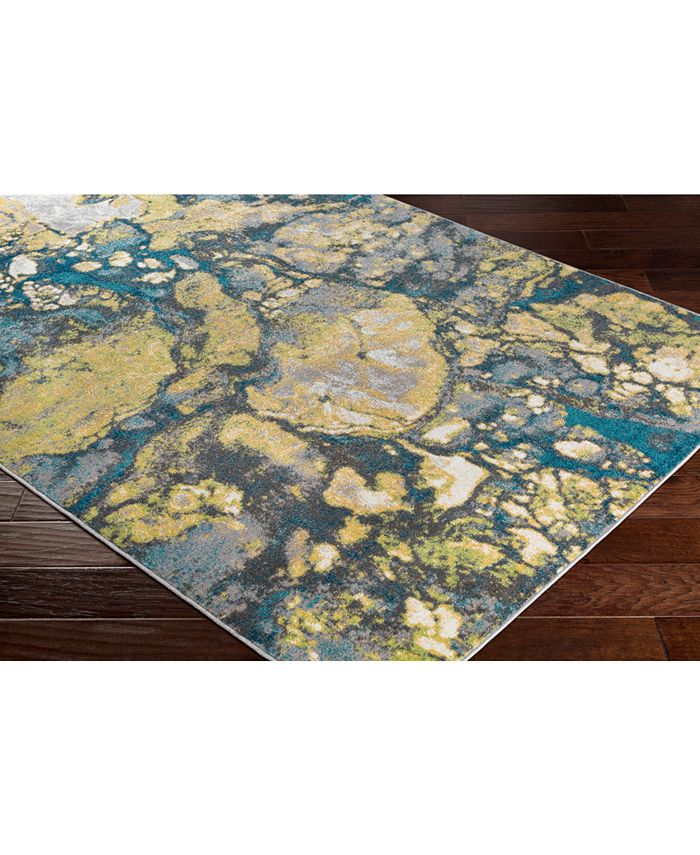 """Abbie & Allie Rugs - Rafetus ETS-2327 Butter 18"""" Square Swatch"""