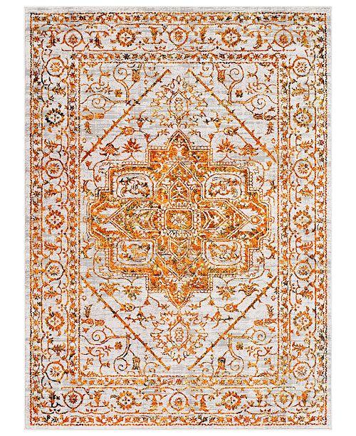 "Surya Himalayan HIM-2301 Saffron 5'3"" x 7'3"" Area Rug"