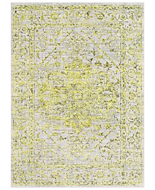 "Surya Himalayan HIM-2303 Bright Yellow 3'11"" x 5'7"" Area Rug"