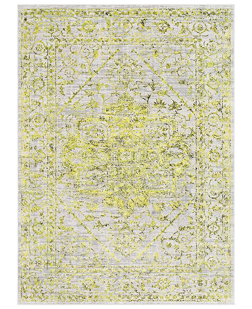 "Surya Himalayan HIM-2303 Bright Yellow 7'10"" x 10'3"" Area Rug"