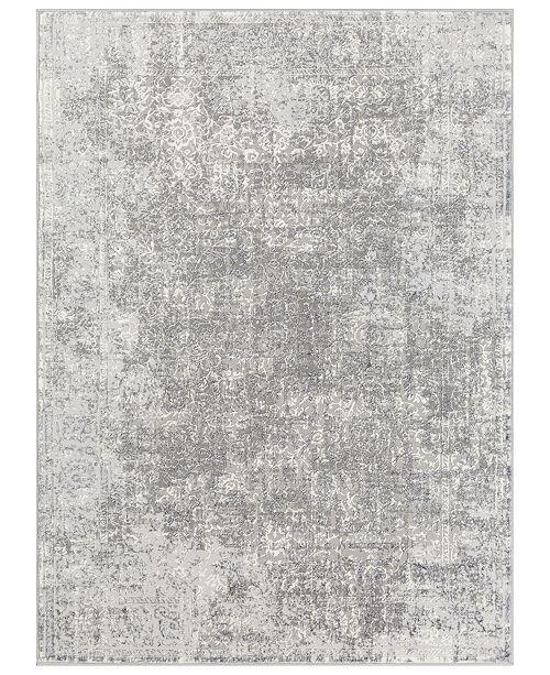 "Surya Katmandu KAT-2301 Charcoal 5'3"" x 7'3"" Area Rug"