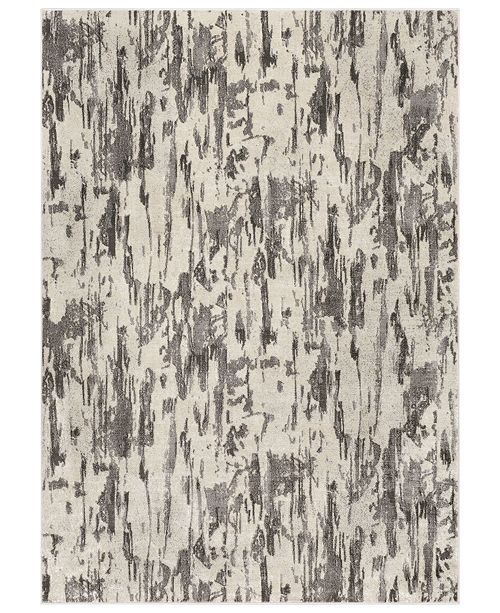 "Surya Lagom LGM-2303 Medium Gray 3'11"" x 5'7"" Area Rug"